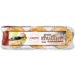 Photo of Cripps Master Sour Dough Mix Grain Seed Muffin 6pk