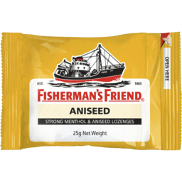 Photo of Fisherman's Friend Strong Menthol And Aniseed 25gm