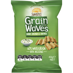 Photo of Grainwaves Sour Cream & Chives 40gm