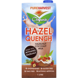 Photo of Pure Harvest Organic Hazel Quench 1l