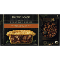 Photo of Herbert Adams Slow-Cooked Chunky Beef 2pk