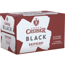 Photo of Vodka Cruiser Black Raspberry Bottles