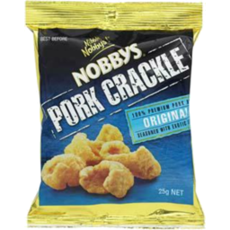 Photo of Nobby's Pork Crackle Original 25g