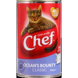 Photo of Chef Cat Food Ocean Bounty 690g