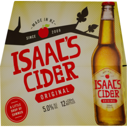 Photo of Isaac's Mac's Issac's Apple Cider 12x330ml