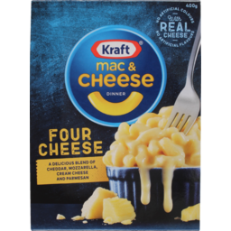 Photo of Kraft Mac And Cheese Frozen Meals Four Cheeses 400g 400g