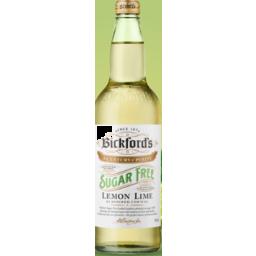 Photo of Bickfords Cordial Lemon Lime Sugar Free 750ml