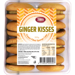 Photo of Bakers Collection Ginger Kisses 200gm