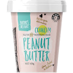 Photo of Natures Delight Peanut Butter Crunchy 450g