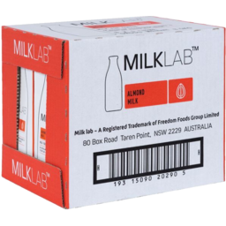 Photo of Milklab Almond Milk 1l 8pk
