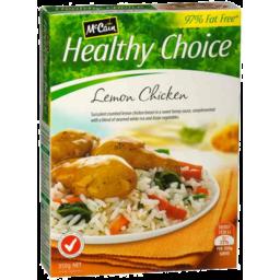 Photo of Mccain Healthy Choice Lemon Chicken 350g
