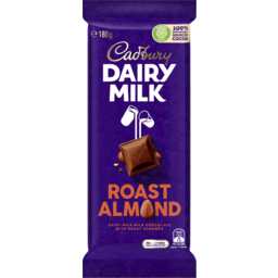 Photo of Cadbury Dairy Milk Roast Almond Milk Chocolate Block 180g
