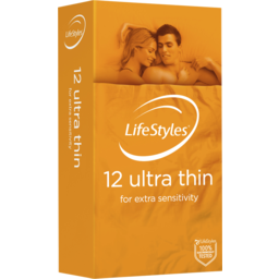 Photo of Ansell Lifestyles Condoms Ultra Thin 12pk