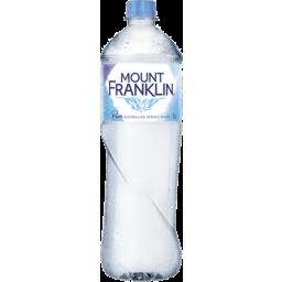 Photo of Mount Franklin Spring Water Bottle 1l