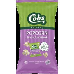 Photo of Cobs Popcorn Natural Best Ever Sea Salt & Vinegar 5 Pack 65g