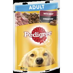 Photo of Pedigree Wet Dog Food Casserole 85g Pouch