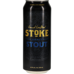 Photo of Stoke Legacy Beer Stout 500ml
