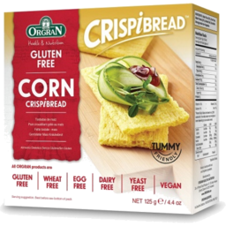 Photo of Orgran Gluten Free & Dairy Free Crispbread Corn 125g