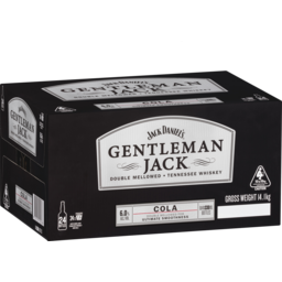 Photo of Gentleman Jack & Cola Stubbie Case
