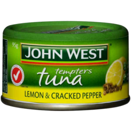 Photo of John West Tuna Tempters Lemon & Cracked Pepper (95g)