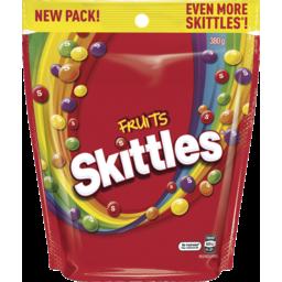 Photo of Skittles Fruits 380g