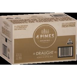 Photo of 4 Pines Kolsch Bottle 330ml 24 Pack
