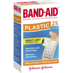 Photo of Band-Aid Brand Plastic Strips 25 Pack
