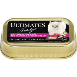 Photo of Ultimates Indulge Whitemeat Tuna With Red Bream & Chicken Breast 85g