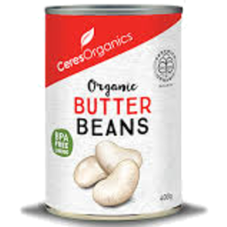 Photo of Ceres Organics Butter Beans 400gm