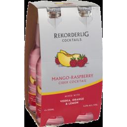 Photo of Rekorderlig Mango-Raspberry Cider Cocktail With Vodka