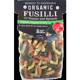 Photo of Organic Fusilli With Tomato & Spinach 500g