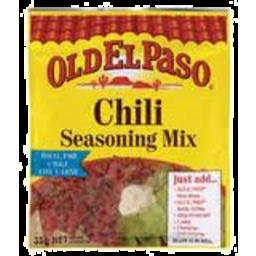 Photo of Old El Paso Chili Seasoning Mix 35gm