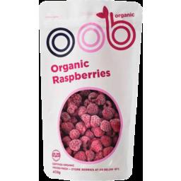 Photo of Oob Organic Raspberries 450g