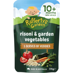 Photo of Raffertys Garden Risoni & Garden Vegetables 170g