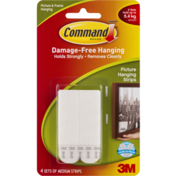 Photo of Command™ Medium Picture Hanging Strips 4pk 17201pk