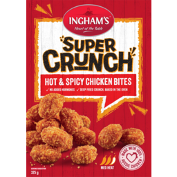 Photo of Inghams Super Crunch Hot & Spicy Chicken Bites 325g