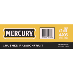Photo of Mercury Hard Cider Passionfruit Cans