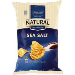 Photo of Natural Chip Co Sea Salt 175gm
