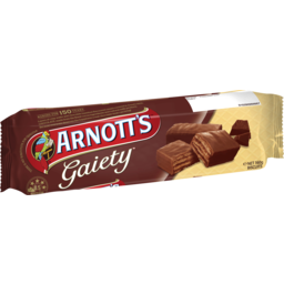 Photo of Arnotts Chocolate Biscuits Gaiety 160g