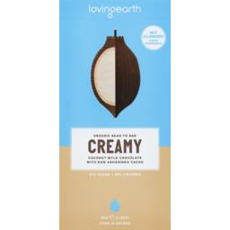 Photo of Chocolate Organic Creamy 80g