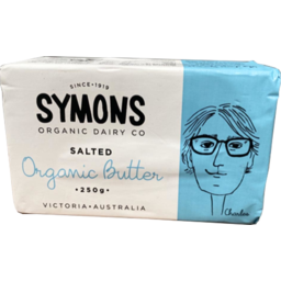 Photo of Symons Organic Dairy Co Butter - Salted (Australian)