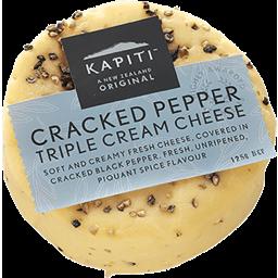 Photo of Kapiti Cream Cheese Flavoured Cheese Cracked Pepper 125g