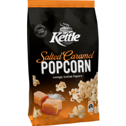 Photo of Kettle Chip Company Corn Snacks Kettle Popcorn Salted Caramel 110g 110g