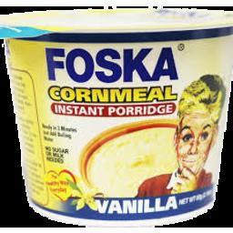 Photo of Foska Cornmeal Instant Porrid Vanilla