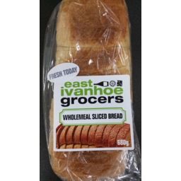 Photo of Eig Wholemeal Sliced Bread 680g