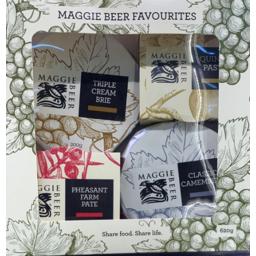 Photo of Maggie Beer Cheese Pate Favorites Pack 620gm