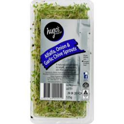 Photo of Alfalfa & Chive Sprouts P/P 125gm