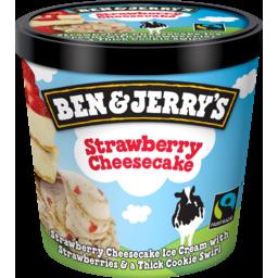 Photo of Ben &Jerry's Ice Cream Strawberry Cheesecake 120ml