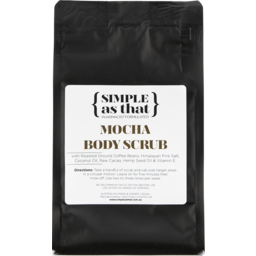Photo of Simple As That Mocha Body Scrub 200g