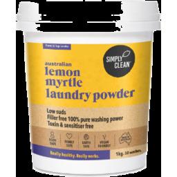Photo of Simply Clean Laundry Powder - Lemon Myrtle 1kg